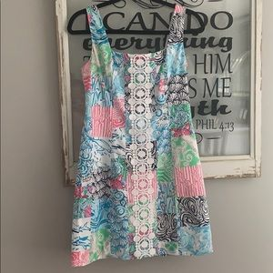 Lilly Pulitzer Osterville Patch Shift Dress